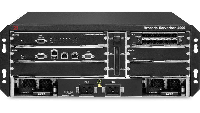 Details: Brocade ServerIron ADX 4000 mit ASM-4-Modul. (Quelle: Brocade)