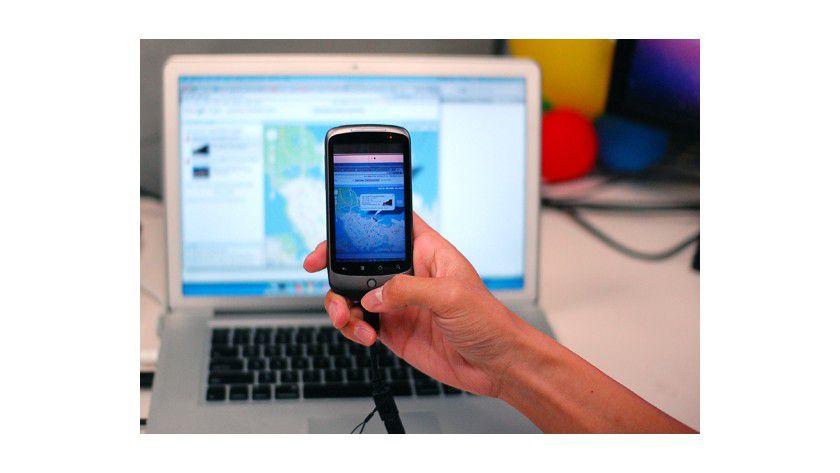 Praktisch: Deep Shot überträgt die Anwendung vom Desktop auf das Smartphone.