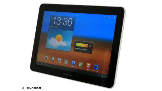 Das Galaxy Tab von Samsung könnte ebenso ein ernster Wettbewerber für das iPad werden wie das Playbook von Blackberry.