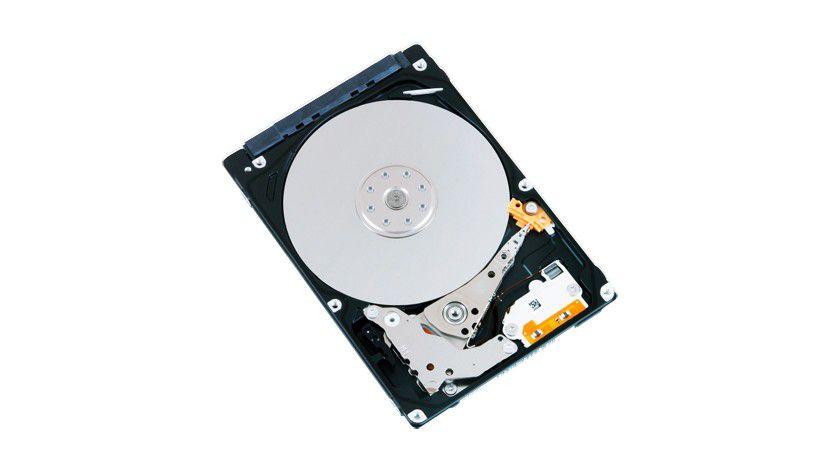 HDD-Serie MQ01ABF: Das Top-Modell der Baureihe kommt mit 500 GByte Kapazität.