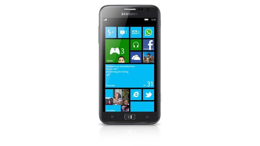 Windows-Smartphone: Das Samsung Ativ S kommt mit Windows Phone 8.
