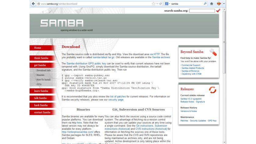 Multitalent: Samba unterstützt das SMB-Protokoll, das über Betriebssystemgrenzen hinweg gelesen werden kann. Mit der Samba-Version 4 versteht die freie Software auch Microsofts Active-Directory-Protokoll.