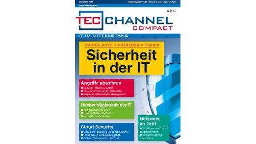 TecChannel Compact 09/2013: Auf über 160 Seiten Informationen für die Bereiche IT-Sicherheit im Mittelstand, Cloud-Security, Cloud-Services und Netzwerk.