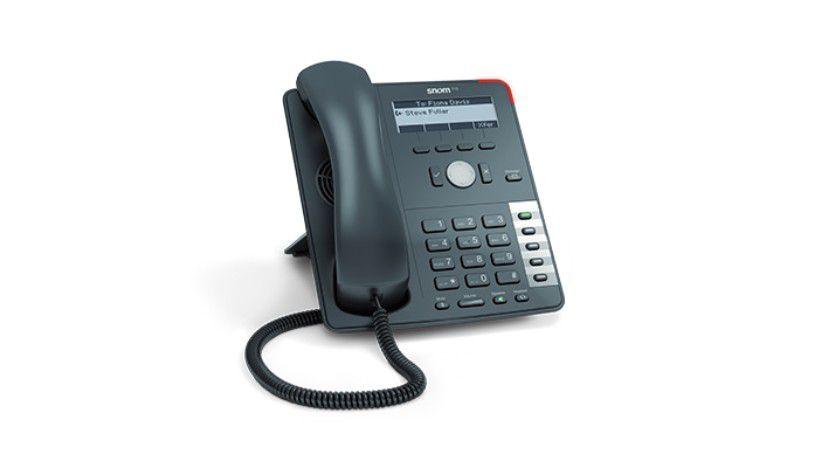 Snom 715: Das neue VoIP-Einstiegsmodell soll es zur CeBIT 2014 geben.