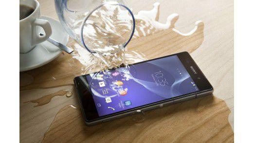 Das Sony Xperia Z2.