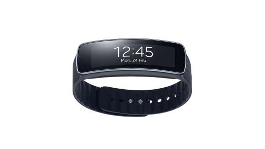 Die Samsung Gear Fit.