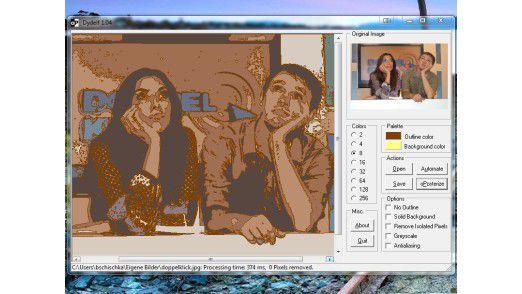 Bildbearbeitung mit Dydelf