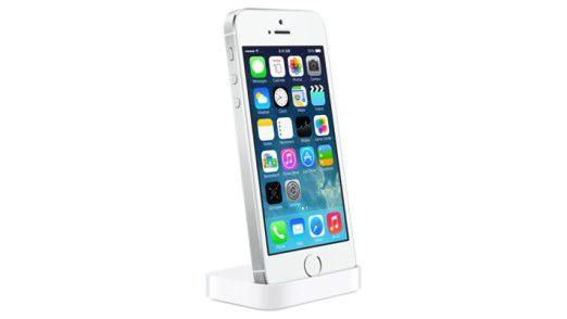 Die Docking-Station für das iPhone 5S kostet 29 Euro.