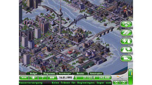 Sim City 2 - auch die reale Stadt soll vom Einsatz von IT profitieren.