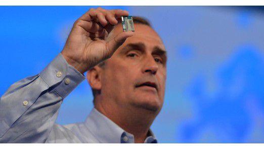 """Intel-Chef Brian Krzanich: """"Unser Wachstum hängt nicht vom PC-Geschäft ab!"""""""