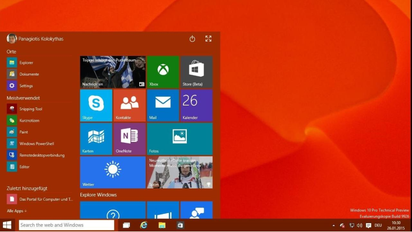 Microsoft Windows 10: App-Store unter Windows 10 sperren