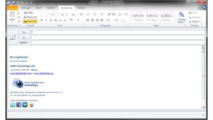 Sichere E Mails Unter Outlook 2010