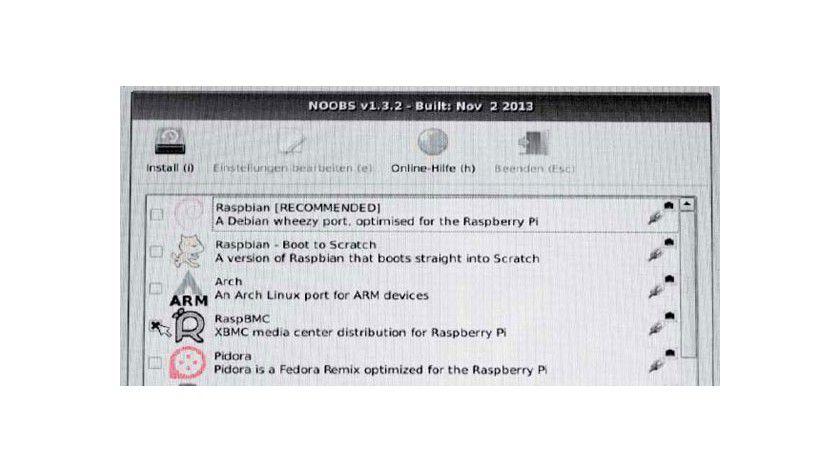 Noobs macht es sehr einfach, Betriebssysteme parallel für den Raspberry Pi zu installieren. Noobs hat auch die Medienzentralen Open Elec und Rasp BMC in seinem Portfolio.
