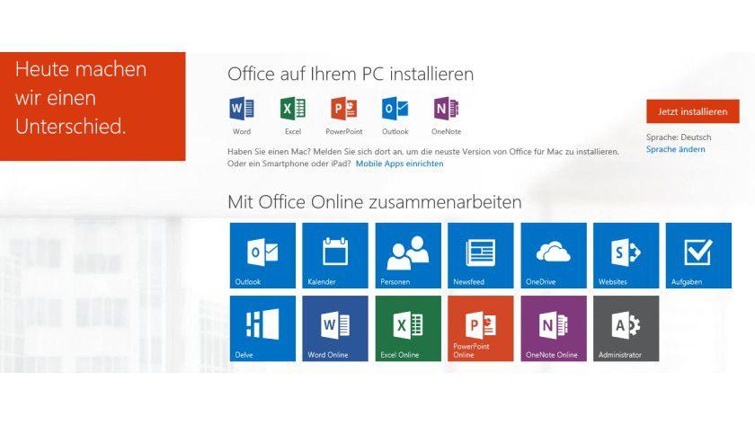 Pers nlicher assistent microsoft delve informationen in for Office design 365