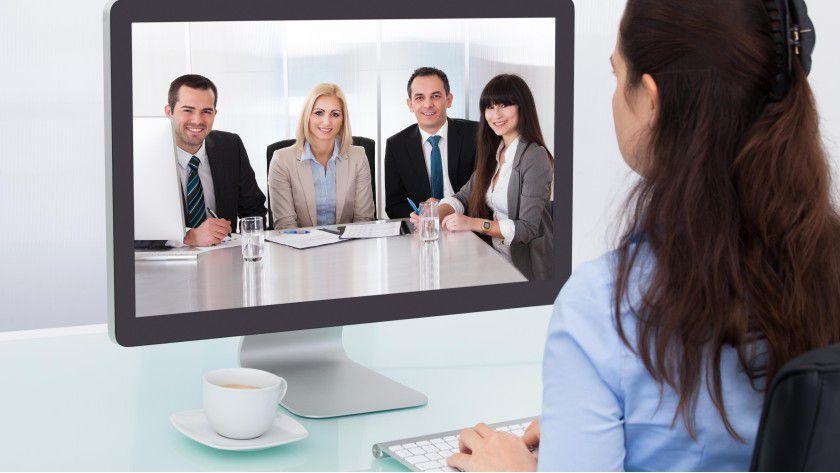 Zukünftig sollen auch Bewebungsgespräche über jobclipr stattfinden.
