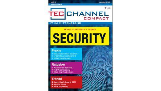 160 Seiten Praxis, Ratgeber und Tipps finden Sie im neuen TecChannel Compact.