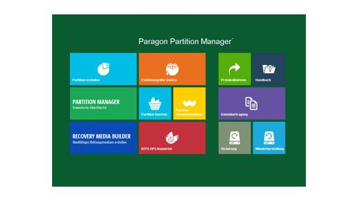 Free Edition: Paragon Partition Manager - Partitionieren leicht gemacht - Foto: Paragon