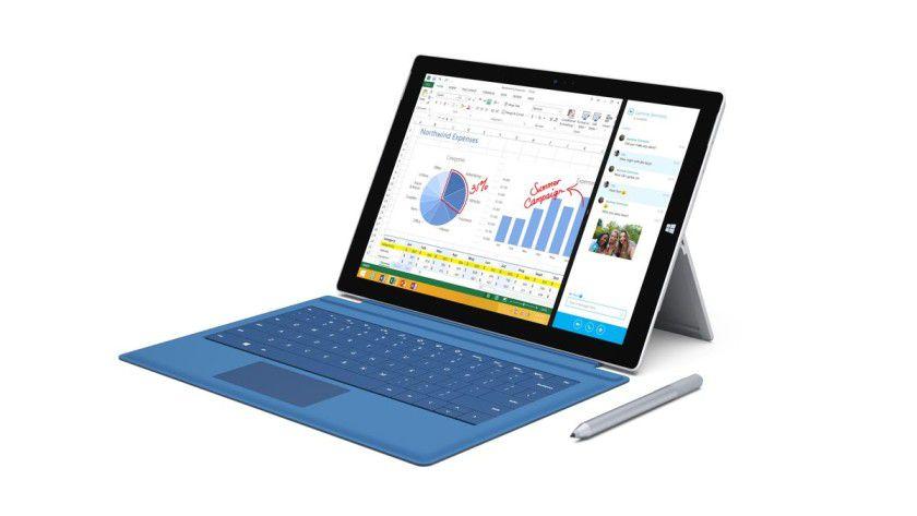 Arbeitsauftrag: Das Surface Pro 3 zielt vor allem auf Geschäftskunden