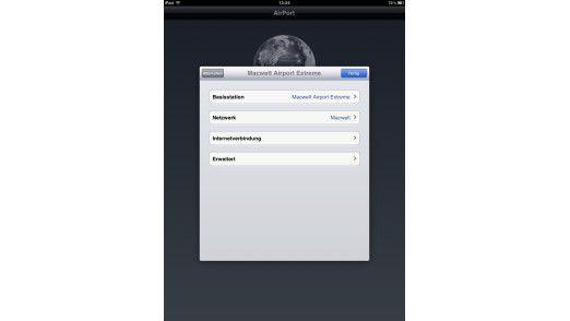 Die Airport-App bietet einige wenige Funktionen, um sein Heimnetz zu konfigurieren – sofern man auf Apple-Hardware setzt.