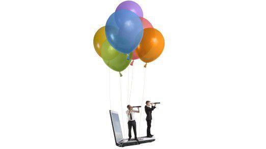 Auf der Suche nach neuen Arbeitgebern: Jeder zweite junge Informatiker will in den nächsten zwei Jahren den Job wechseln.