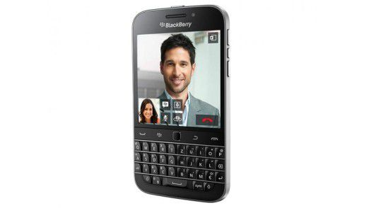 Mit dem 'Classic' geht Blackberry ein wenig 'back to the roots'.