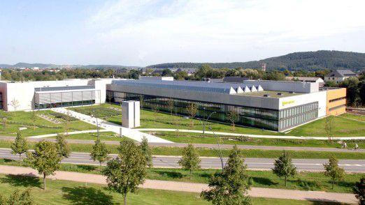 Das Logistikzentrum der HUK Coburg: Die Einführung des neuen Vertriebsportals erforderte auch einiges an logistischem Aufwand.