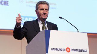 Hamburger IT-Strategietage 2015: EU-Kommissar Oettinger: Es geht um Wirtschaft 4.0 - Foto: Foto Vogt