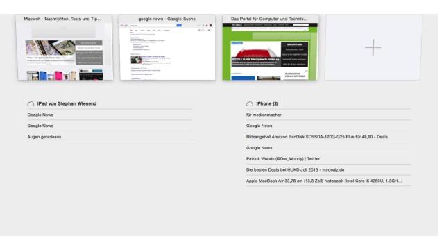 Safari, Chrome und Firefox - Foto: Macwelt