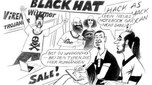 Neulich auf der Black-Hat-Konferenz.