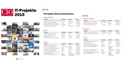 Von Adidas über Daimler bis Zott: Die IT-Projekte 2015 - Foto: cio.de