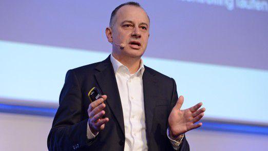 Volkswagen Group CIO Martin Hofmann auf den Hamburger IT-Strategietagen.