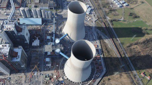 RWE Kraftwerk Hamm: RWE hatt eine Aufteilung des Geschäfts lange abgelehnt.