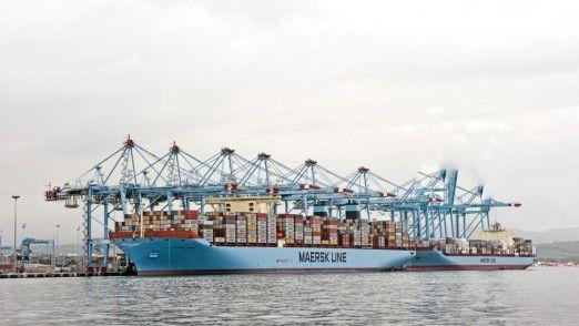 Mærsk Line ist die weltweit größte Containerschiff-Reederei. Sie gehört zur dänischen Unternehmensgruppe A. P. Møller-Mærsk.