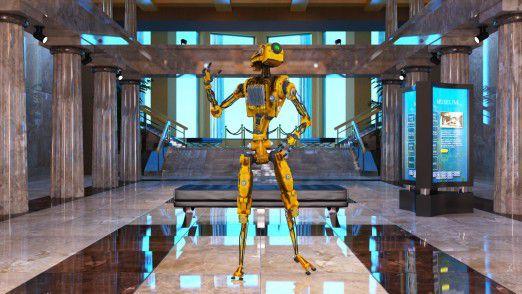 Im Hilton soll der Roboter die Hotel-Gäste begrüßen und mit Informationen versorgen.