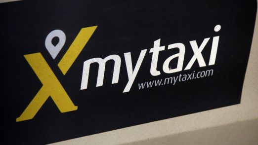 Taxitür: Google Maps öffnet sich für myTaxi.