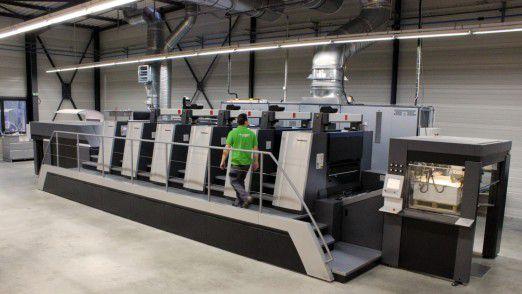 Die Heidelberger Druckmaschinen planen eine Art Vertragsmodell für dauerhafte Erlöse.
