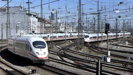 Bis Ende 2016 will die Bahn Sensoren in 3000 Weichen einbauen. Bis 2020 sollen es 30.000 werden.