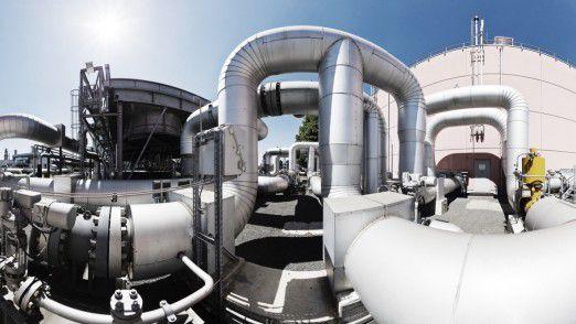 Rund 30 Verdichterstationen entlang des über 12.000 Kilometer langen Gasnetzes sorgen dafür, dass das Gas immer mit ausreichend Druck transportiert wird.