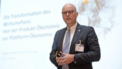 Kuka CIO Holger Ewald