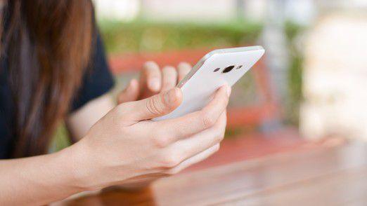 Teenager nutzen ihr Smartphone in der Regel nicht zum Telefonieren.
