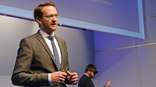 SAP CIO Tomas Saueressig auf den Hamburger IT-Strategietagen 2017.