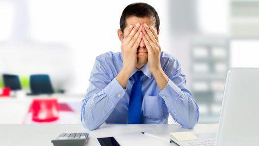 """Der Gesetzgeber verlangt von Unternehmen eine """"Gefährdungsbeurteilung"""" in Hinsicht auf psychische Belastungen am Arbeitsplatz."""