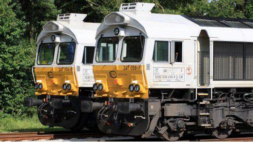 250 Lokomotiven in Deutschland, Großbritannien, Frankreich und Polen werden schlauer.