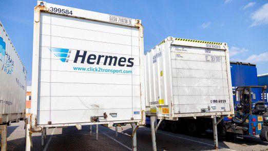 Hermes kann dank boomendem Online-Handel mit einem satten Umsatzplus aufwarten.