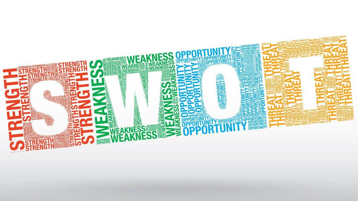 SWOT-Analyse - Vorlage kostenlos: Vorlage für die SWOT-Analyse mit ...