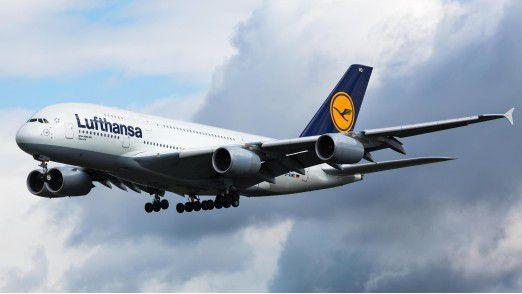 Beliebt bei Fluggästen: Rund 12 Millionen Menschen flogen im Juni mit der Lusthansa und ihren Töchtern.