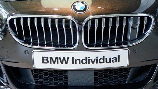 BMW 650i mit Individual-Ausstattung: Auch Autobauer wie z.B. BMW setzen bis zu einem gewissen Maße auf den Trend der Individualisierung.