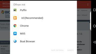 Chrome, Firefox, Dolphin, Opera: 17 alternative Browser für Android