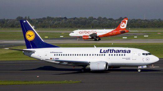 Die Lufthansa übernimmt 61 Flugzeuge von den Leasinggesellschaften der Air Berlin.