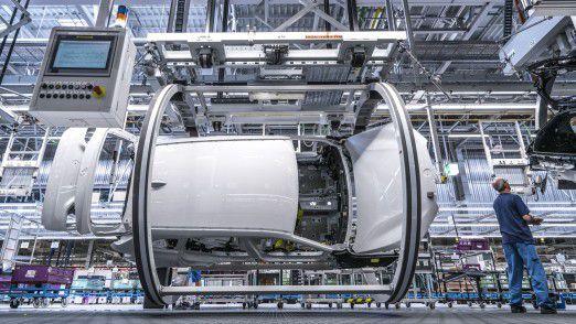 Die BMW Group setzt auf prädiktive Instandhaltung in der Montage.